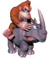 DK riding Rambi.png