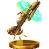 Daybreak trophy from Super Smash Bros. for Wii U