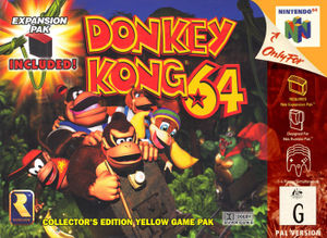 Australian boxart for Donkey Kong 64