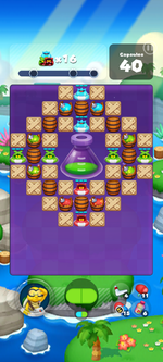Stage 622 from Dr. Mario World