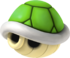 A Green Shell from Mario Kart 7.
