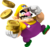 Mario Party 8 artwork: Wario