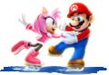 MarioAmy Artwork - Mario & Sonic Sochi 2014.png