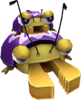 Rendered model of the Parent and Child Mandibugs in Super Mario Galaxy.