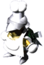 Artwork of a Torte from Super Mario RPG: Legend of the Seven Stars