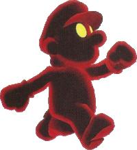 Artwork of Cosmic Clone from Super Mario Galaxy 2
