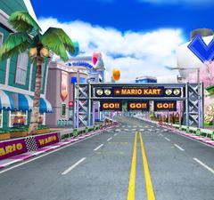 Diamond City from Mario Kart Arcade GP 2