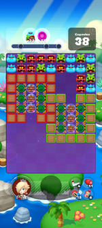 Stage 631 from Dr. Mario World