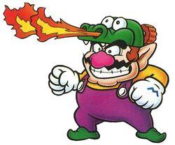 Artwork of Dragon Wario for Wario Land: Super Mario Land 3