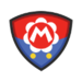 Baby Mario's emblem from soccer from Mario Sports Superstars