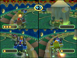 Cannonball Fun at night from Mario Party 6