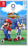 Mario & Sonic at the Olympic Games Tokyo 2020 North American boxart with the updated content rating