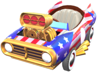 Star-Spangled Flyer from Mario Kart Tour