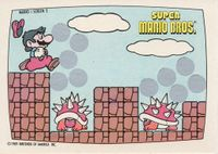 A Nintendo Game Pack scratch-off game card of Super Mario Bros. (Screen 2 of 10)