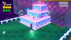 Hidden Luigi found in Puffprod Peaks in Super Mario 3D World.