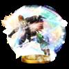 Triforce Slash trophy from Super Smash Bros. for Wii U