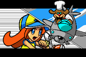 Part of Mona's in WarioWare: Twisted!
