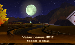 Yellow Leaves Hill 3 overview from Mario Sports Superstars