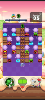 Stage 441 from Dr. Mario World