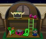 Luigi's Present Room from Mario Party 4