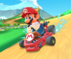 The icon of the Hammer Bro Cup challenge from the 2020 Yoshi Tour in Mario Kart Tour.