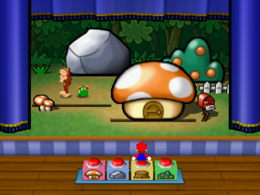 Hide and Sneak in the game Mario Party 3.