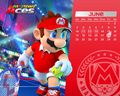 Mario Tennis Aces June Calendar 1280X1024.jpg