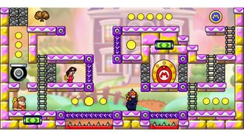 Miiverse screenshot of the 31st official level in the online community of Mario vs. Donkey Kong: Tipping Stars