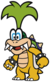 Iggy Koopa in Paper Mario: Color Splash.