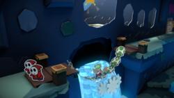 Indigo Underground from Paper Mario: Color Splash