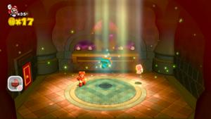 World Castle Sprixie House in Super Mario 3D World