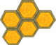 Render of a Honeycomb Wall segment in Super Mario Galaxy.
