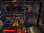 One of Shivering Mountains' red diamond sub-levels from Wario World.