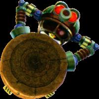 Artwork of Digga-Leg from Super Mario Galaxy 2