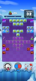 Stage 1009 from Dr. Mario World