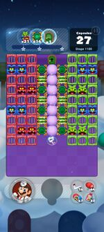Stage 1189 from Dr. Mario World