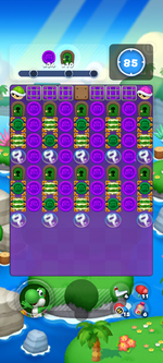 Stage 16A from Dr. Mario World
