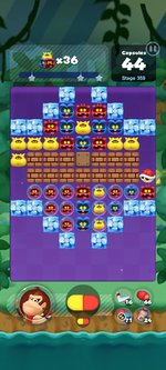 Stage 359 from Dr. Mario World