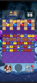 Stage 497 from Dr. Mario World