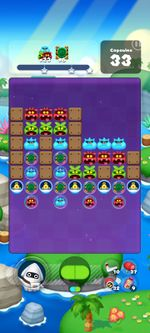 Stage 604 from Dr. Mario World since version 2.0.0