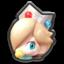 Baby Rosalina's head icon in Mario Kart 8