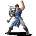 Richter Belmont artwork for Super Smash Bros. Ultimate