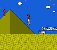 Toad in the Desert level of Super Mario Bros. 2.