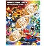 Mario Kart medallions from Super Nintendo World