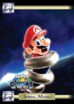 Spring Mario trading card