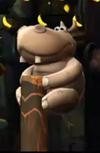 A singular image of a Bopapodamus from <i>Donkey Kong Country Returns</i>.