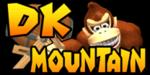 The logo for DK Mountain, from Mario Kart Double Dash!!.