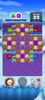 Stage 1033 from Dr. Mario World