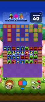 Stage 548 from Dr. Mario World
