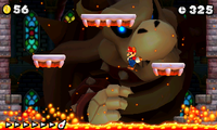 Big Dry Bowser in New Super Mario Bros. 2